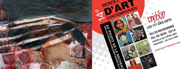 Programme du 14e salon d'Art Contemporain