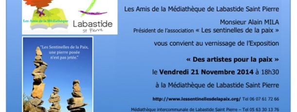 Médiathèque Labastide Saint-pierre