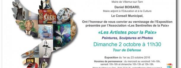Halte n°11 des artistes pour la paix